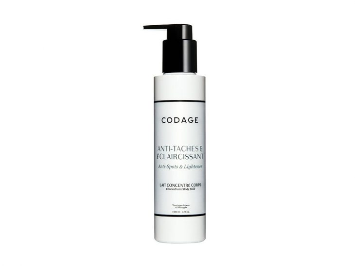 Codage Concentrated Body Milk Anti-Spots & Lightener 150 ml